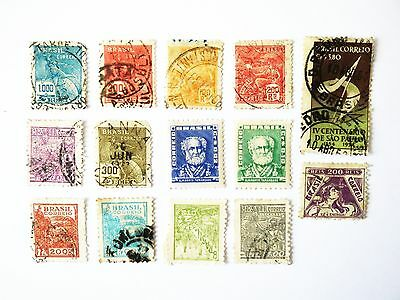 Very Nice Small Collection Of 14 Stamps From Brazil