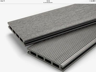 5m2 5sqm GREY Composite Decking DURATRAC