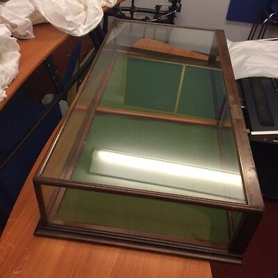 Vintage Table Top Museum/ Shop Cabinet