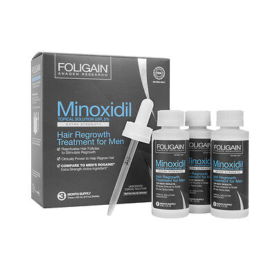 FOLIGAIN P5 5% Topical Solution 3 Months Supply