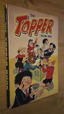 The Topper Book 1980  Vintage Comic Annual unclipped