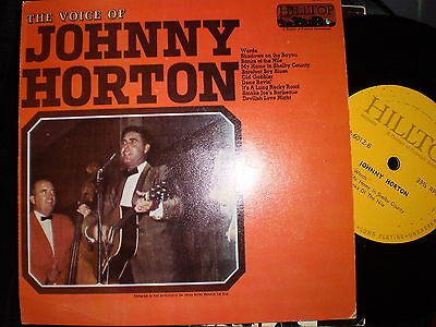 Johnny Horton - The Voice Of - Us Hilltop - Jukebox Ep