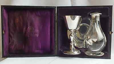 Solid Silver Communion Set by A R Mowbray London 1928/9