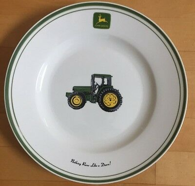 John Deere collector plate by Gibson