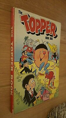The Topper Book 1982,Vintage Comic Annual unclipped