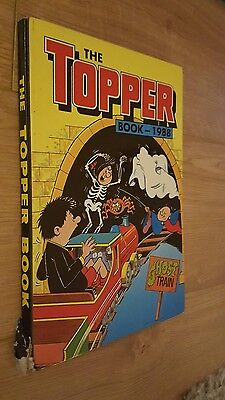 1988 The Topper Book Annual Unclipped Hardback Book