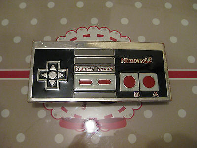 NES Controller belt buckle