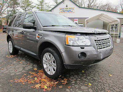 2008 Land Rover LR2 SE Premium Sport Utility 4-Door LAND ROVER LR2 2008 WELL EQUIPPED EASY REPAIRABLE DAMAGE SALVAGE NAV PANO ROOF