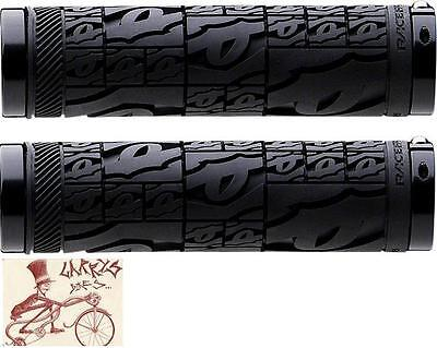 Raceface Strafe Black Lock-On Mtb Bicycle Grips