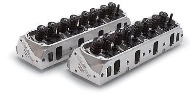 ED5028 Edelbrock E-205 Cylinder Heads Ford Windsor 289 302 351