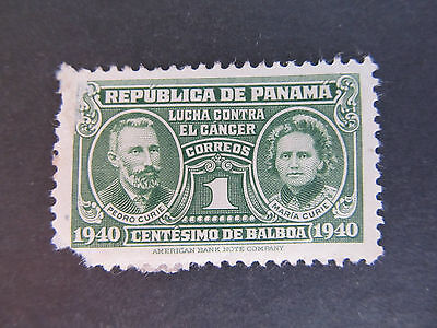 1939 - Panama - Pierre And Marie Curie - Scott Ra2 Pt1 1C