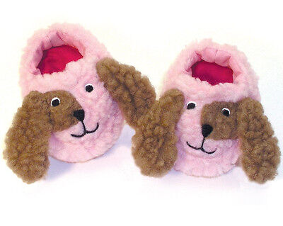 """Pink Puppy Dog Slippers made for 18"""" American Girl Doll Clothes DOGGY"""