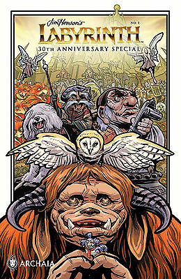 Jim Henson Labyrinth 30Th Anniversary Special #1 Main Cover Boom! Studios 2016