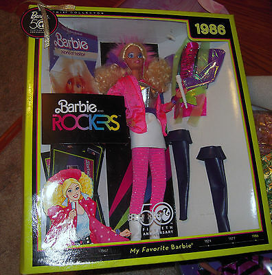 Barbie 50Th Anniversary Barbie And The Rockers Doll