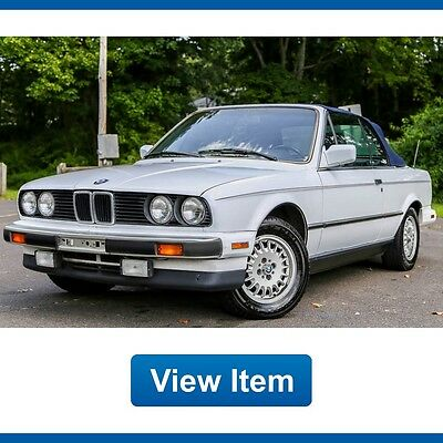 1990 BMW 3-Series Base Convertible 2-Door 1990 BMW 325ic Convertible Sport Package Automatic Rare Serviced 99K Miles