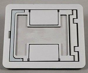Wiremold Fpctcal D/C Aluminum Flanged Cover