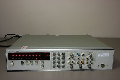 HP Agilent 5334B Universal Counter options 10 30 60, recent calibration Warranty