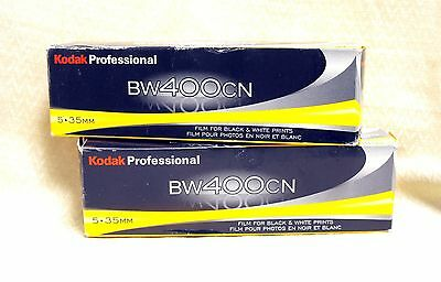 10 Rolls Kodak BW400CN 35mm x 36 Exp Black & White Film C-41
