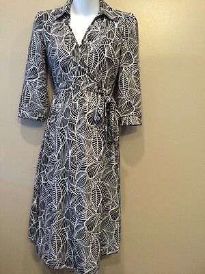 Two Hearts Maternity Small Nursing Dress With Ties