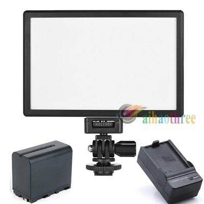 Viltrox L116T LED Studio Light Dimmable DSLR Camera DV Panel + 6600mAh Battery