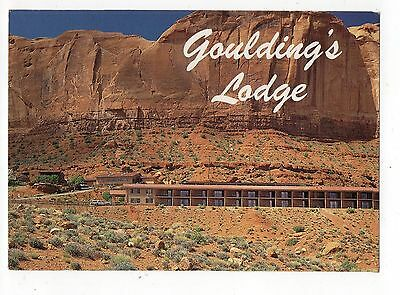 Goulding's Lodge Monument Valley Utah Vintage 4x6 Postcard, Sep15 c