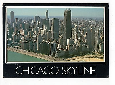 Chicago Skyline Vintage 4x6 Postcard, Sep15 b