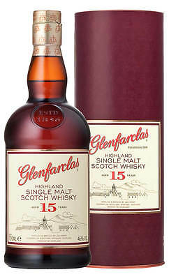 Glenfarclas 15YO Single Malt Scotch Whisky (700ml Boxed)