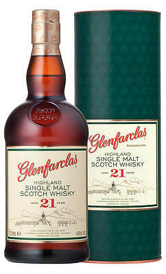Glenfarclas 21YO Highland Single Malt Scotch Whisky 700ml (Boxed)