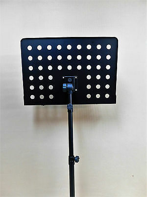 Haze P-06 Heavy Duty Stiff-Back Music Stand