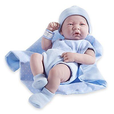 JC Toys Berenguer Boutique La Newborn 14in Life-Like Real Boy Doll 9pc Gift Set