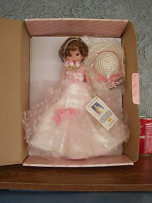 TONNER BETSY McCALL DOLL 1997 in PINK GOWN MIB 1st Issue Stamp Collection NEW