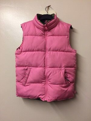 59-girls Reversible Gap Gillet In Great Con Age 13