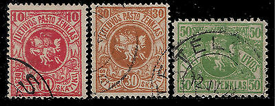"LITHUANIA 1919 Old Stamps - The White Knight "" Vytis """