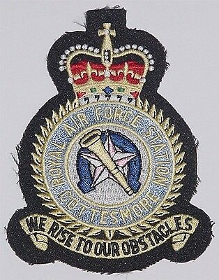 Aufnäher Patch Luftwaffe Royal Air Force Station Cottesmore ...........A2266