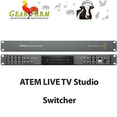 Blackmagic Design ATEM Television Studio Production HD Switcher SWATEMTVSTU