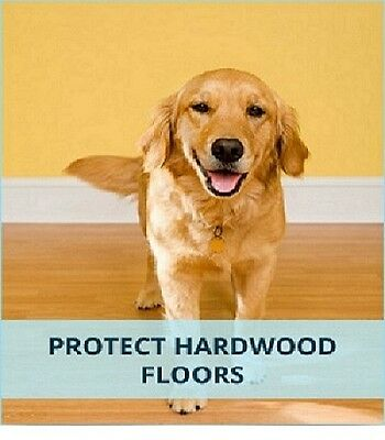Just Paws Soft Vinyl Dog Nail Caps Prevent Damage To Wood Floors & Furniture