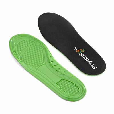 PhysioRoom TPE Polymer Gel Insole Shock Absorbing Comfort Superb Fit