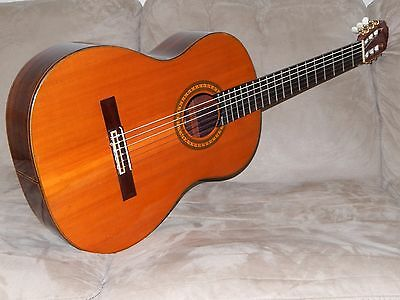 Hand Made In Japan 1979 Hiroshi Tamura  Model 1000 Wonderful Classical Guitar