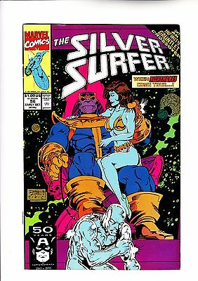 Silver Surfer 56 Thanos infinity gauntlet cross over