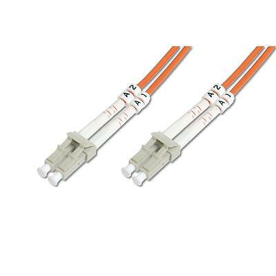 DIGITUS LWL Multimode Patchkabel LC / LC Duplex Kabel 5m orange
