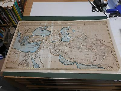 100% Original Large Persia Area  Map By Buache C1745 Low Postage