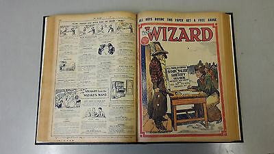 WIZARD COMIC - No. 370-386 from 1930 BOUND VOLUME  D. C. Thomson