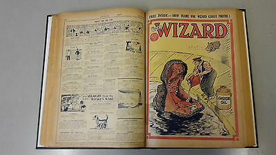 WIZARD COMIC - No. 387-404 - from 1930 BOUND VOLUME  D. C. Thomson