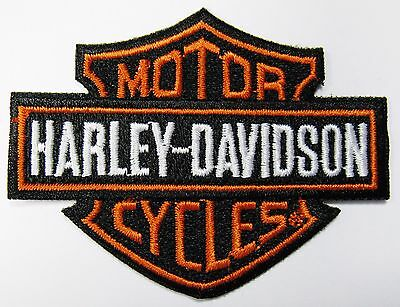 Lot Of (1) Motorcycle Harley Davidson Bar Shield Patch (Type A) Item # 139