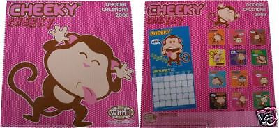 Calendar Withit World Cheeky 2008 Official Calendar