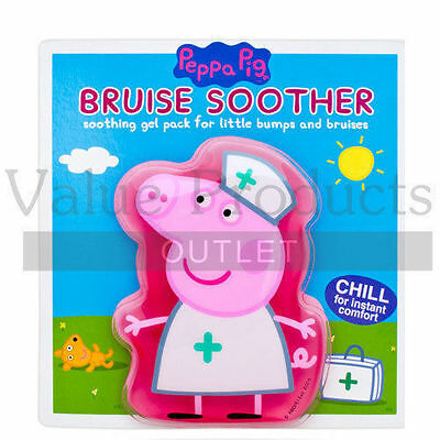 Peppa Pig Bruise Soother - Kids/Childrens Reusable Conforming Hot Cold Gel Pack