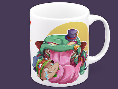 League of Legends Tahm Kench Teemo Mine lol coffee mug