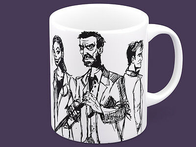 Dr. House MD Trust me I'm a doctor funny lol coffee mug cup gift