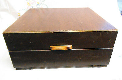 Vintage His Masters Voice Turntable Box - c. 1950's ?