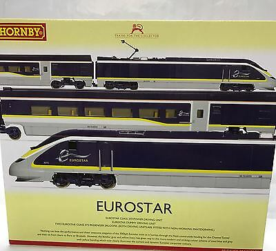 Hornby R3215, Eurostar e300 Class 373 Blue Livery 4-Car Train Pack